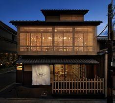 Restaurant Facade, Restaurant Plan, Modern Restaurant, Japanese Modern, Japanese House, Japanese Design, Wood Architecture, Japanese Architecture, Cafe Shop Design