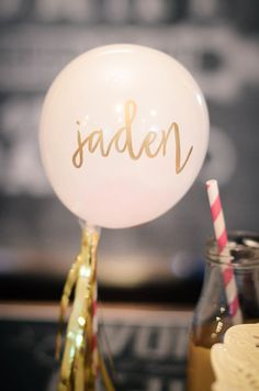 birthday balloon .