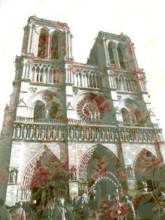 Paris by Hannah Player, via Behance Notre Dame, Taj Mahal, Behance, Paris, My Love, Illustration, Photography, Travel, Montmartre Paris