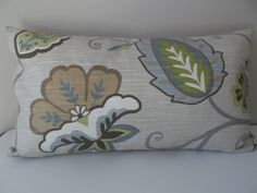Your place to buy and sell all things handmade Floral Throw Pillows, Colorful Pillows, Toss Pillows, Accent Pillows, Petal Pushers, Decorative Pillow Covers, Fabric Decor, Fern, Lumbar Pillow