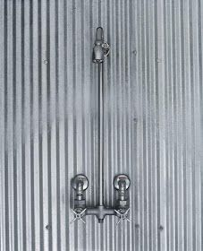 Craft1945: Galvanized Shower Walls