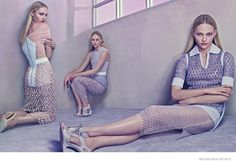 Sasha Pivovarova by Steven Klein for Balenciaga spring/summer 2015