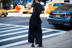New York Fashion Week Street Style, Day 6 - New York Fashion Week Street Style, Day 6-Wmag