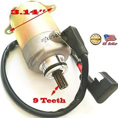 GY6 125cc 150cc Scooter Moped ATV Go Cart Starter Motor Tank Roketa Baja Vento -- Click on the image for additional details.