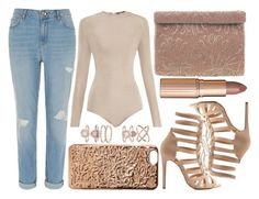 """""""street style"""" by sisaez ❤ liked on Polyvore featuring Balmain, River Island, Marc Jacobs, Accessorize, Nina, Charlotte Russe and Charlotte Tilbury"""
