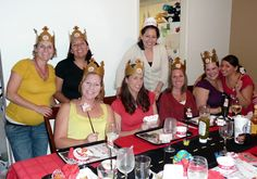 Monthly theme dinner parties...FUN!