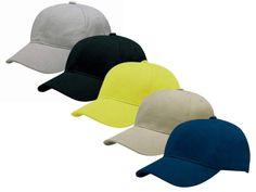 6 Panel Heavy Brushed Cotton Cap at Caps | Ignition Marketing Corporate Clothing