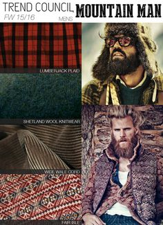 NOMAD MAN - Textures and fabrics with warmth inspired by travels in the mountains MOUNTAIN-MAN_materials