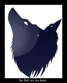 WOLF ' N ' RAVEN ... TOTEMS ...