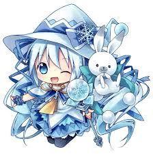 hatsune miku, yuki miku, and yukine (suki! maji magic (vocaloid) and vocaloid) drawn by kagami leo - Danbooru Kawaii Anime, Chibi Kawaii, Loli Kawaii, Cute Anime Chibi, Vocaloid, Hatsune Miku Chibi, Cute Animal Drawings Kawaii, Cute Drawings, Sakura Miku