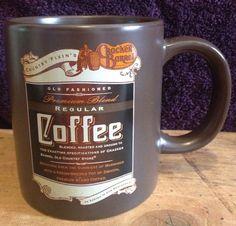 Cracker Barrel Old Country Store Premium Blend Regular Coffee Cup Mug LARGE #CrackerBarrel
