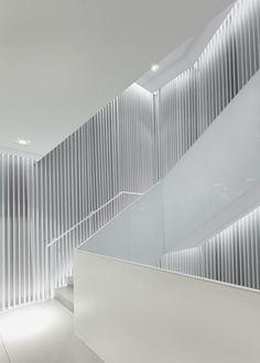 Interior of the HM store in Seoul by Universal Design Studio _
