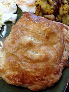 Turkey, Mushroom and Bacon Puff Pastry Packets on MyRecipeMagic.com