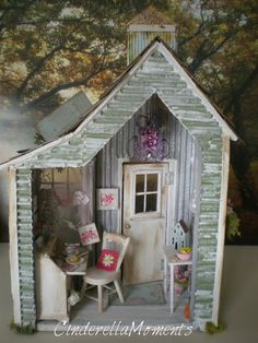 Cinderella Moments: Garden Hideaway Dollhouse
