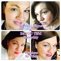 Loving all my looks with Younique. From my Divine moisturizer, touch cream foundation, cream and mineral powder pigment for my eyes, lipgloss and of course my 3 D Fiber lashes. www.Youniqueproductscom/patriciaAblack