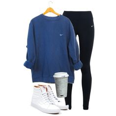 it's snowing!!¡¡ by southern-prep7 on Polyvore featuring polyvore, fashion, style, NIKE, Vans, Fitz & Floyd and clothing