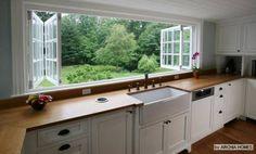 modelo de janela grande estilo janela camarão