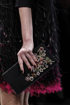 Nails, Clutch, Feathers. Perfection.