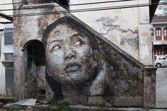 Le Street Art sur Maisons abandonnées de Rone (9)