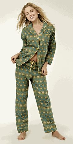 BedHead Liberty of London Peacock Classic Cotton PJs love it! #ecrafty