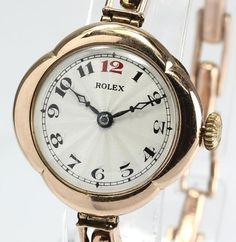 Rolex ジャンク品ロレックスアンティークK9手巻きレディース 時計 Watch Antique ¥60000yen 〆05月30日