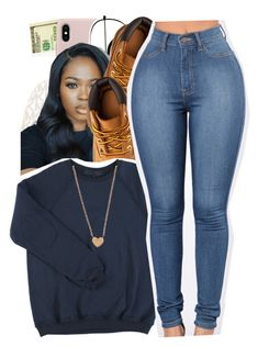 """""""hey poly fam """" by glowithbria ❤ liked on Polyvore featuring ZeroUV, MICHAEL Michael Kors and Timberland"""
