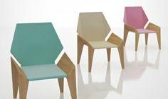 From Designnobis  Origami Chair
