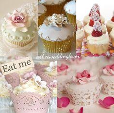 Variety of #weddingcupcakes