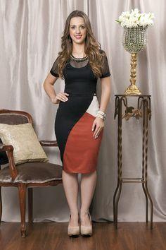 Vestido Cotton - Bella Herança - Moda Evangélica e Roupa Evangélica: Bela Loba