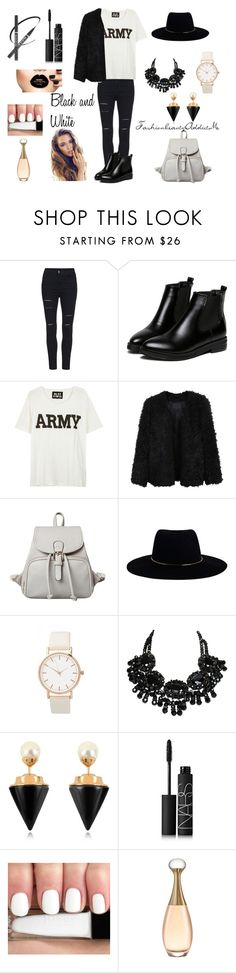 """""""Black and white"""" by chachalapin on Polyvore featuring mode, NLST, LE3NO, Zimmermann, Vita Fede et NARS Cosmetics"""