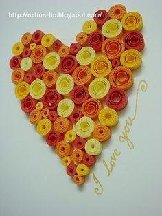 Make a QUILLED heart!