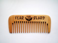 Beard comb Fear the beard Personalized wooden comb wood comb hand engraved comb pocket moustache comb Gift for men boyfriend gift for him wooden comb Beard comb Moustache comb fear the beard wood comb engraved comb gift for men wood burning boyfriend gift gift for him hair grooming beard care personalized comb 13.75 USD #goriani