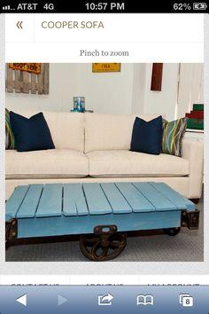 Wood Pallet coffee table- DIY weekend project!!
