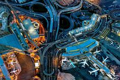 What Airports and Other Transportation Hubs Look Like From the Sky - NYTimes.comKennedy Airport. Mr. Milstein takes his photos using a Phase One 80-megapixel digital camera.