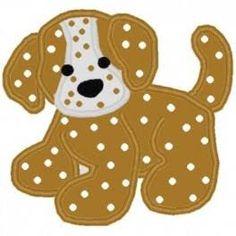Resultado de imagem para applique dog patterns