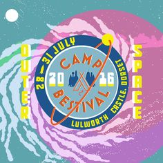 Camp Bestival 2016 has lift off! We're heading on a cosmic adventure into the unknown! Get your space suits on, grab those moon boots and come with us on a voyage into the infinite possibilities of Outer Space! #CampBestival #OuterSpace