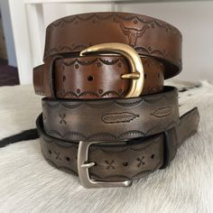 Handmade unisex leather belts Leather Belts, Unisex, Bracelets, Handmade, Accessories, Jewelry, Hand Made, Jewlery, Bijoux