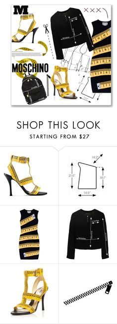 """""""My moschino"""" by out-style ❤ liked on Polyvore featuring Moschino, Maison Margiela, Artifort and WALL"""