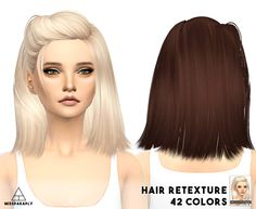Retexture of skysims hair by MissParaply, lovely!❤