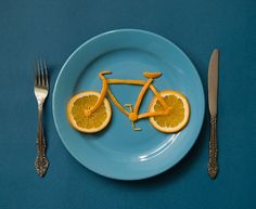 bicycle breakfast