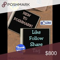 NEW FOLLOW GAME!! LIKE.SHARE.FOLLOW.TAG. JOIN ME! Let's all gain more followers and make happy connections! =D  1. LIKE THIS LISTING 2. FOLLOW ALL POSHERS who have liked this 3. SHARE THIS LISTING with your followers as much as you can 4. TAG 3 OTHER POSHERS  ~*WATCH YOUR FOLLOWERS GROW BY THE DAY!*~   {{LET'S HELP EACH OTHER REACH ALL OUR FOLLOW GOALS! *HELP ME REACH 150K!*}}  <PLEASE NOTE: FG PIC MADE BY ME> Coach Bags