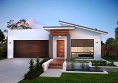 skillion roof facade - Google Search