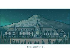 The Shining #Illustration Design