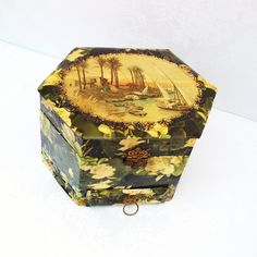 Antique Presentation Box Victorian Celluloid Collar by WhimzyThyme