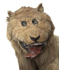 Story goes that, in 1731, King Frederick I of Sweden received a lion skin as a gift from the Bey of Algiers. The taxidermist tasked with mounting it had never seen a lion in real life, and only had a vague idea of what one was supposed to look like. The resulting monstrosity  remains on display at Gripsholm Castle for all to see.