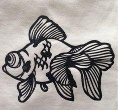 3d Cuts, Laser Paper, Traditional Japanese Art, Three Little, Beautiful Fish, Card Patterns, Kirigami, Goldfish, Three Dimensional