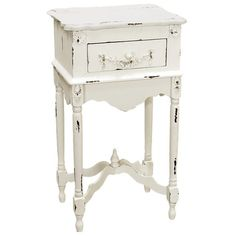 I pinned this Milkpaint Side Table from the French Country Farmhouse event at Joss and Main!