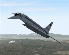Tupolev TU-144 4 - Russian Concorde
