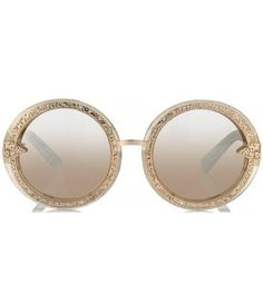 Glitter Orbit Filigree Sunglasses