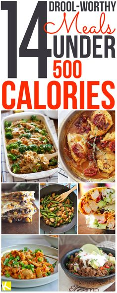 14 Drool-Worthy Meals Under 500 Calories